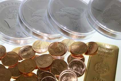 Verkauf-von-Edelmetallen Gold - Silber - Palladium - Platin